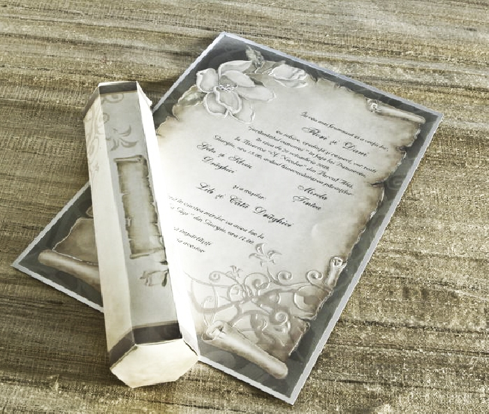 Invitatie de nunta cod 30109