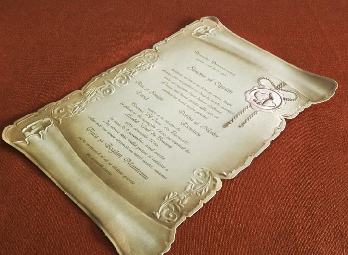 Invitatie de nunta cod 30114